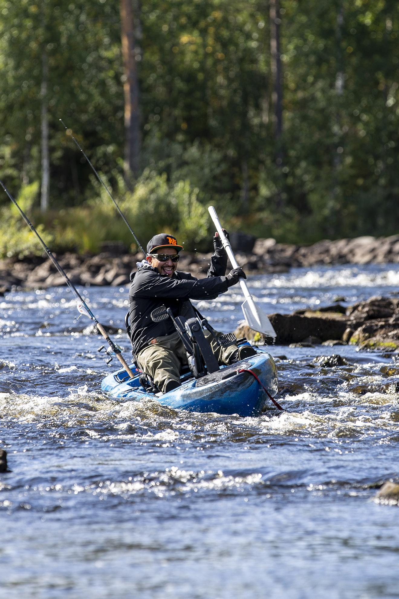 Drift fishing